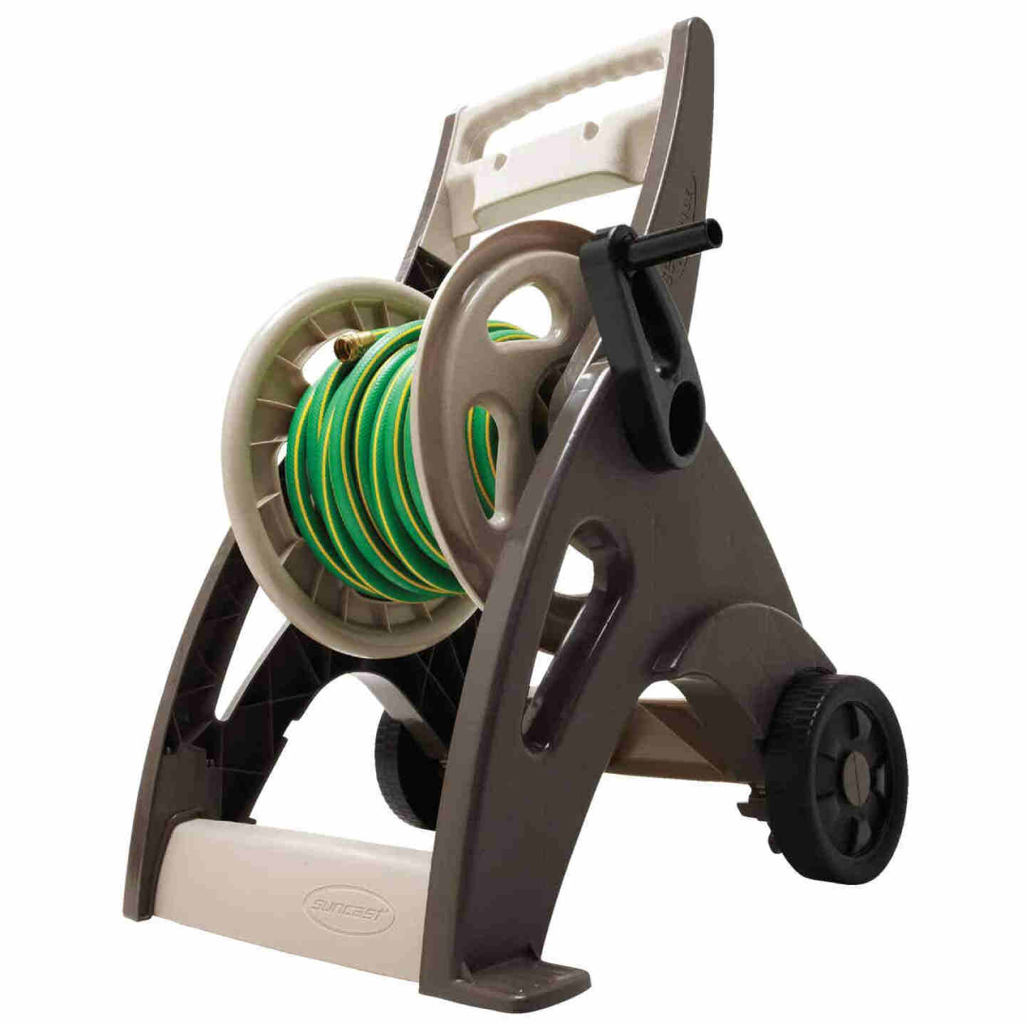 Suncast 175 Ft. x 5/8 In. Bronze Hosemobile Resin Hose Reel Image 7