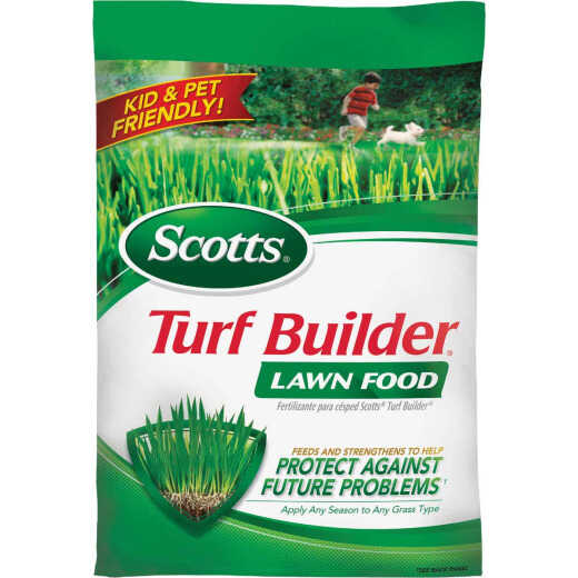 Scotts Turf Builder 12.5 Lb. 5000 Sq. Ft. 32-0-4 Lawn Fertilizer