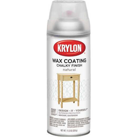 Krylon CHALKY FINISH 11.5 Oz. Subtle Wax Coating Spray Paint, Natural