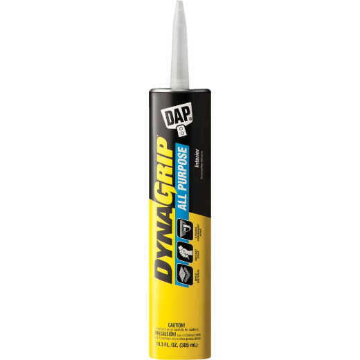 DAP DYNAGRIP 10.3 Oz. All Purpose Construction Adhesive