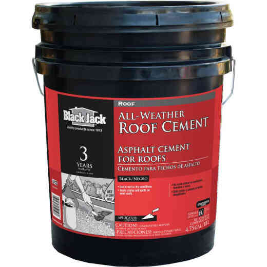 Black Jack 5 Gal. All-Weather Roof Cement