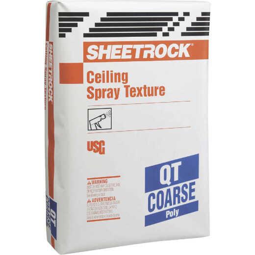 Sheetrock Popcorn-Coarse 40 Lb. Bag White Spray Texture Material