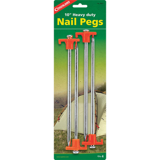 Coleman 10 In. Steel Tent Stake (4-Pack)