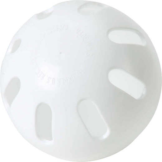 Regulation Size White Wiffle Ball