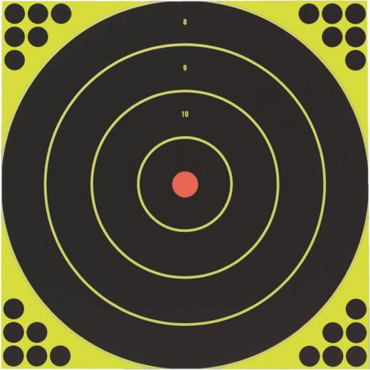 Birchwood Casey Shoot-N-C 12-Inch Sighting Adhesive Paper Bulls-Eye Target