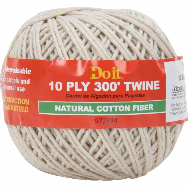 Do it 10-Ply x 300 Ft. White Cotton Parcel Post Twine Image 1
